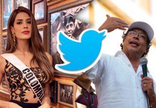 Señorita Colombia 2019 le respondió a Gustavo Petro