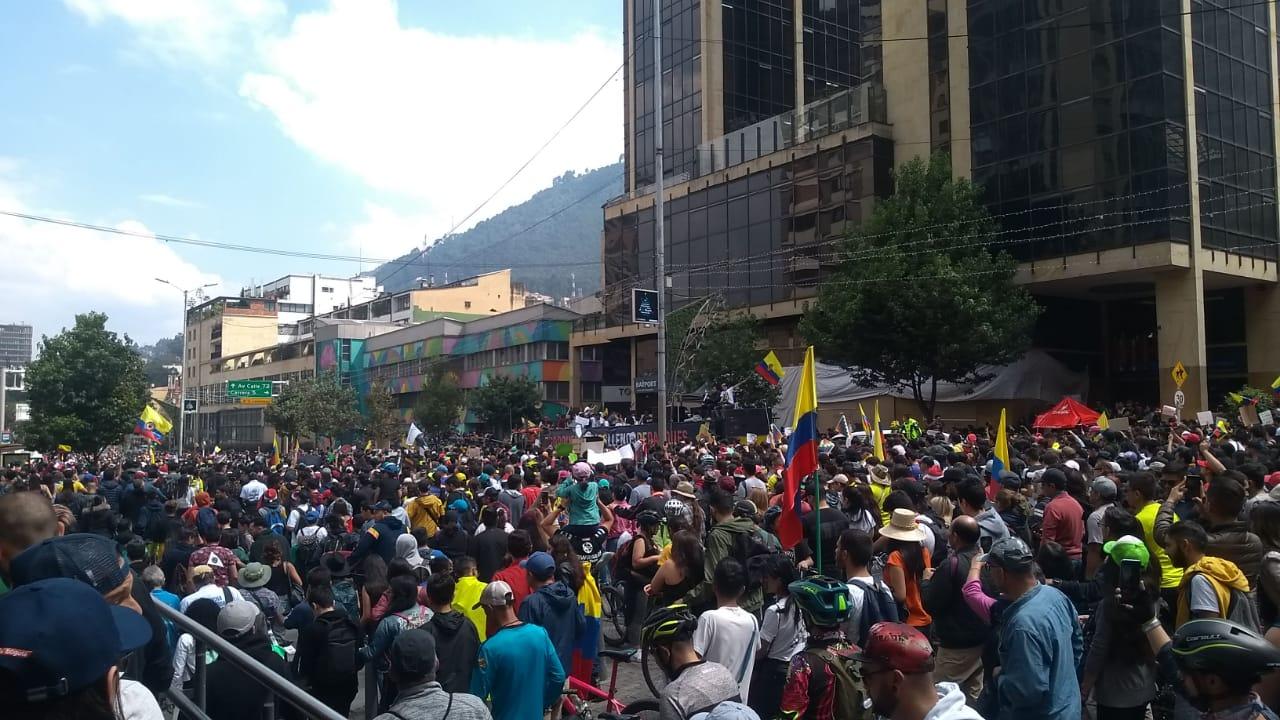 Colombia protestó contra el gobierno de Duque con concierto itinerante