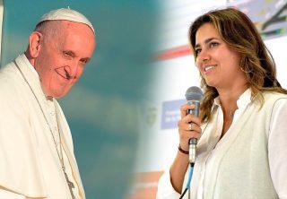 Materializan alianza entre fundación del Papa y la primera dama