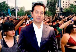 "Alberto Bernal calificó como ""estupidez"" el canto feminista"