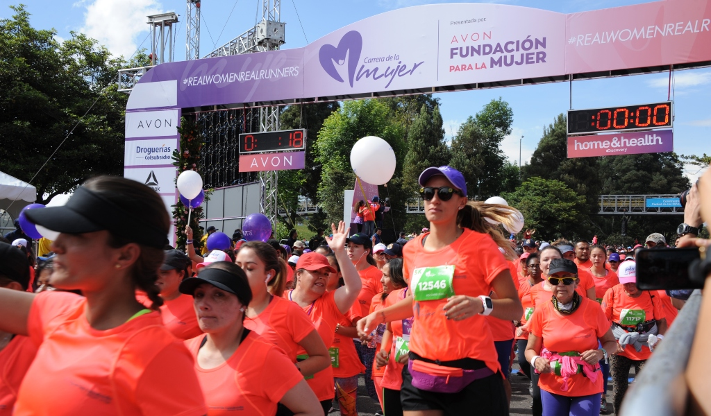 La Carrera de la mujer llega a Medellín