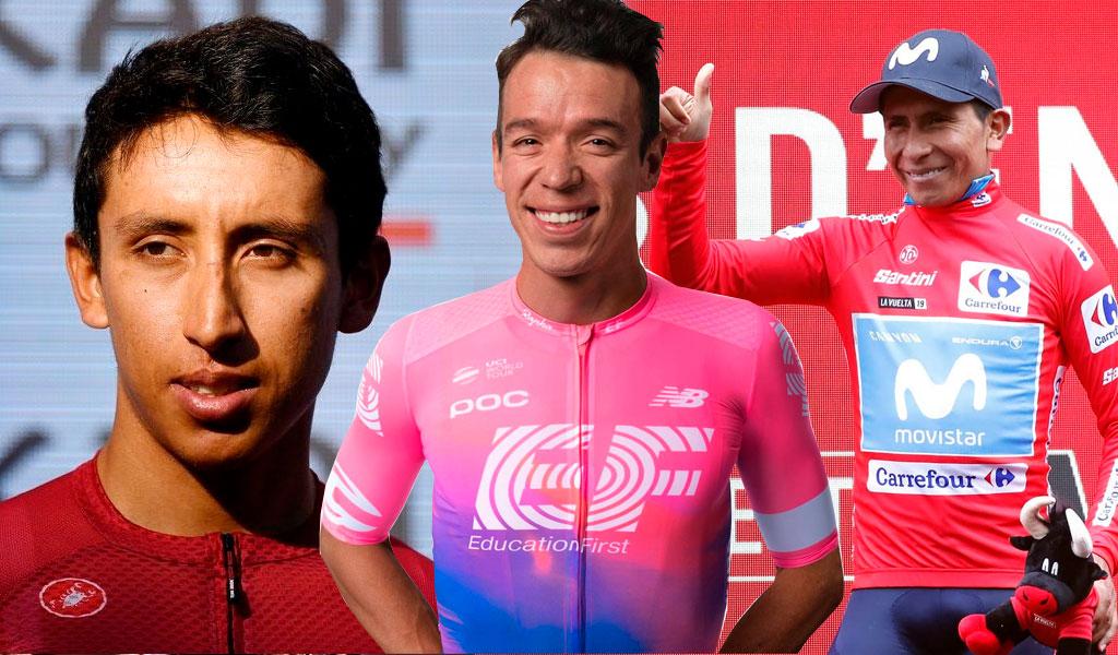 Campeones en tierra de ciclistas