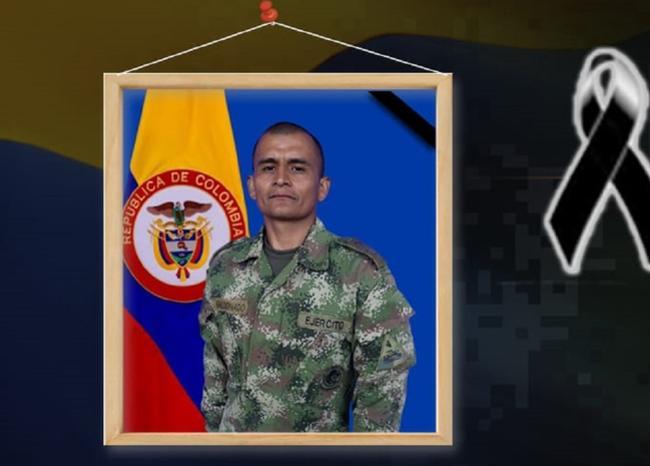 Muere soldado por mina antipersonal en Antioquia