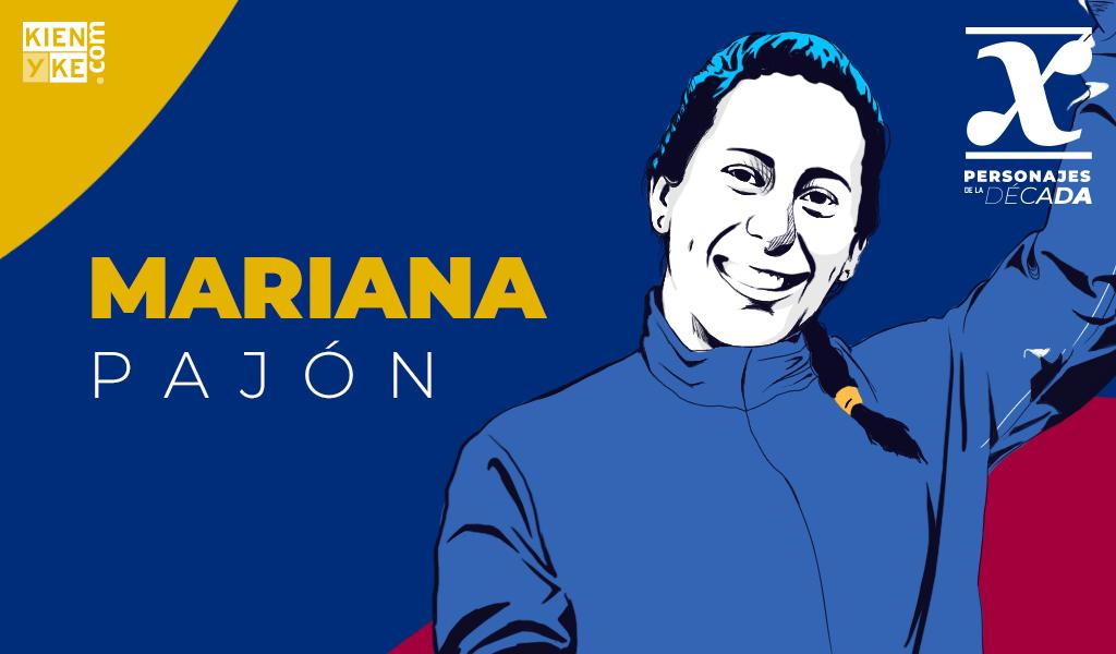 Mariana Pajón, la mujer que bañó en oro al país