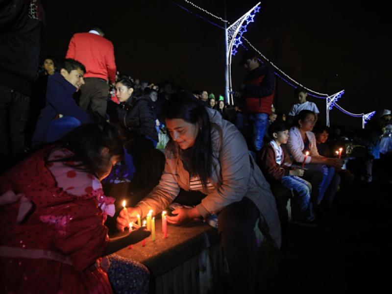 Sorpresas de la Alcaldía de Bogotá para la Noche de Velitas