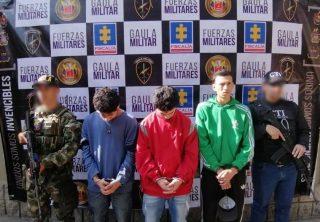 Prisión a responsables de secuestro de joven en Medellín