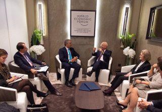 Duque hizo positivo balance en su paso por Davos