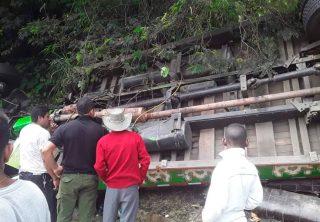 Volcamiento de chiva en el Cauca deja nueve muertos
