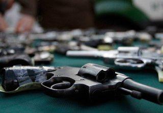 Finaliza veda a importación de armas de fuego