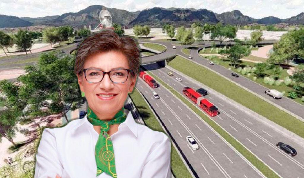 """""""Troncal de la Av. 68 es viable por demanda"""": Claudia López"""