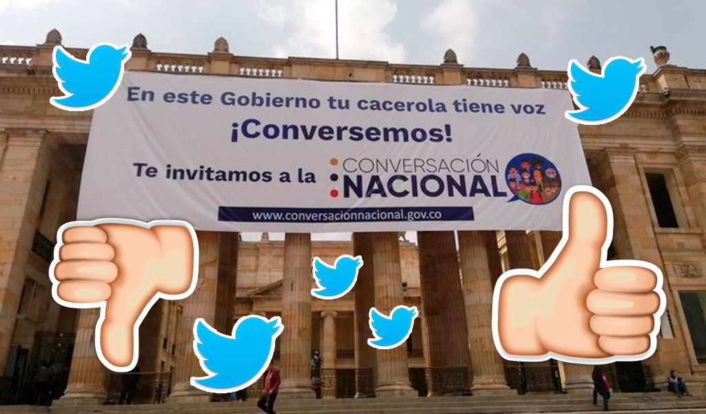 Cacerola, Gobierno Nacional, Congreso, Plaza de Bolívar