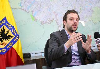 Los primeros días de Luis Ernesto Gómez en la secretaría de Gobierno