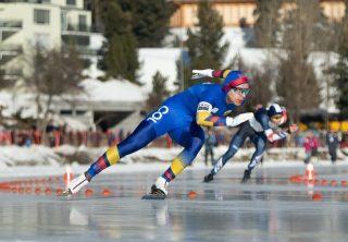 Diego Amaya, el niño maravilla del patinaje sobre hielo
