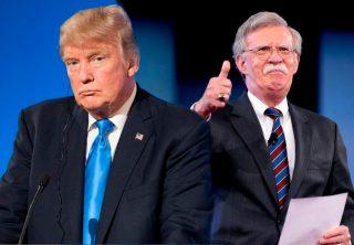 Trump niega acusaciones de Bolton en su contra