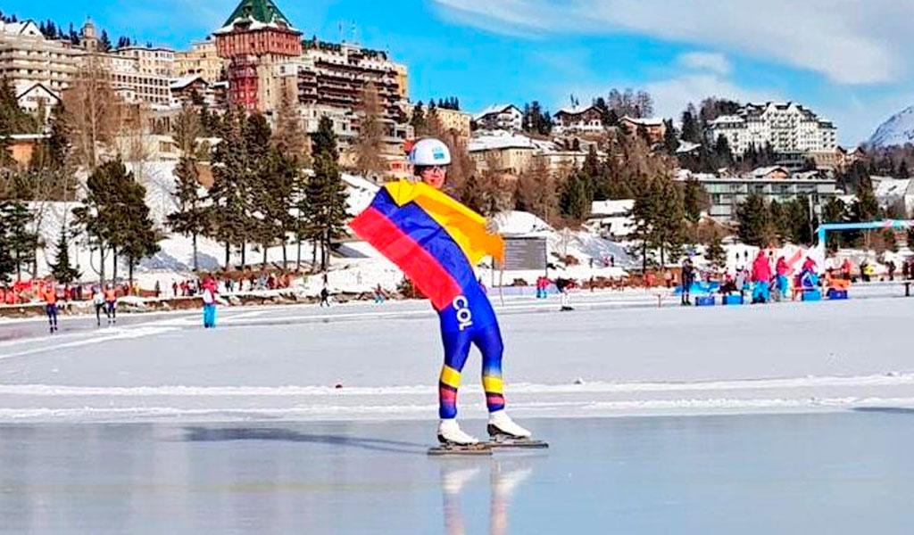 Diego Amaya ganó medalla de plata en Olímpicos de Invierno