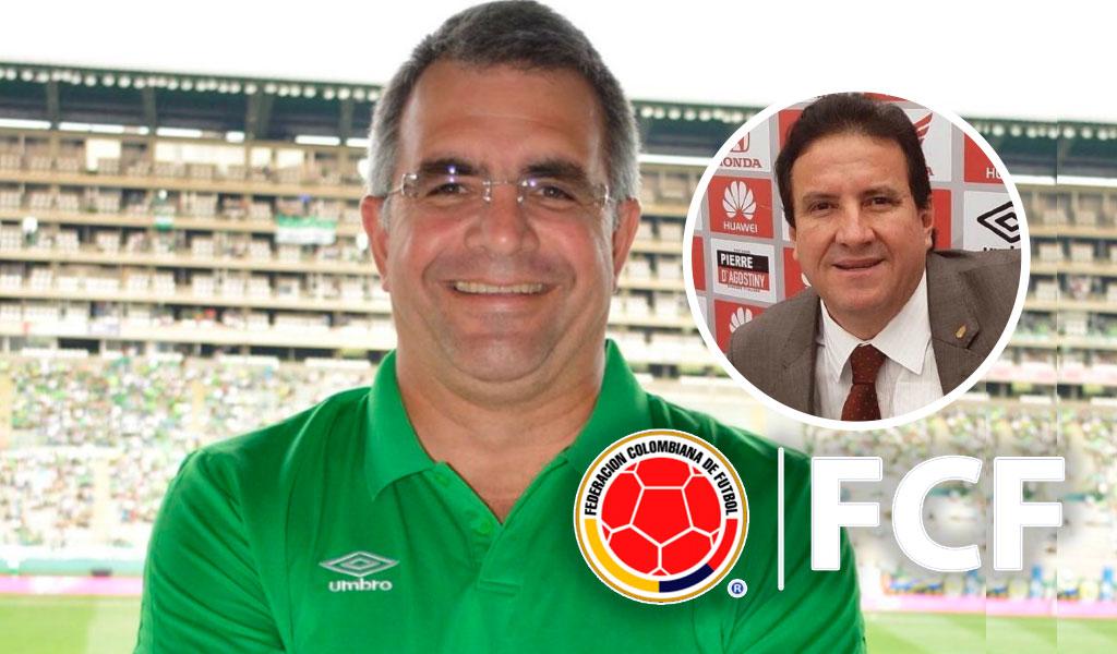Federación Colombiana anuncia el reemplazo de Pastrana