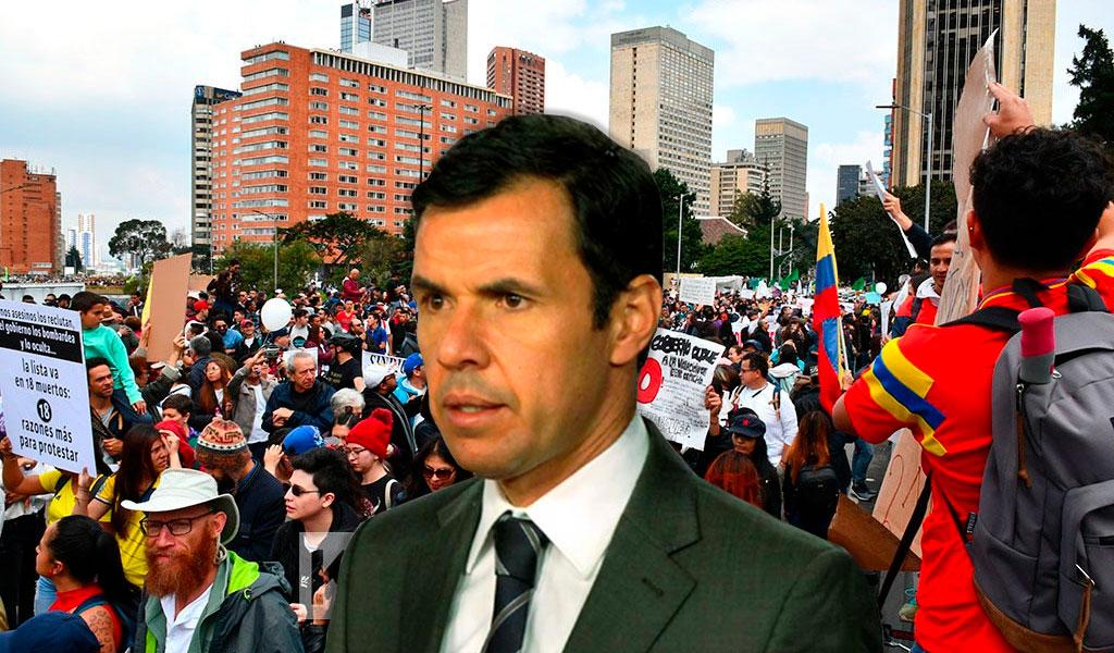 Veedor Distrital pide garantías para las marchas del 21E