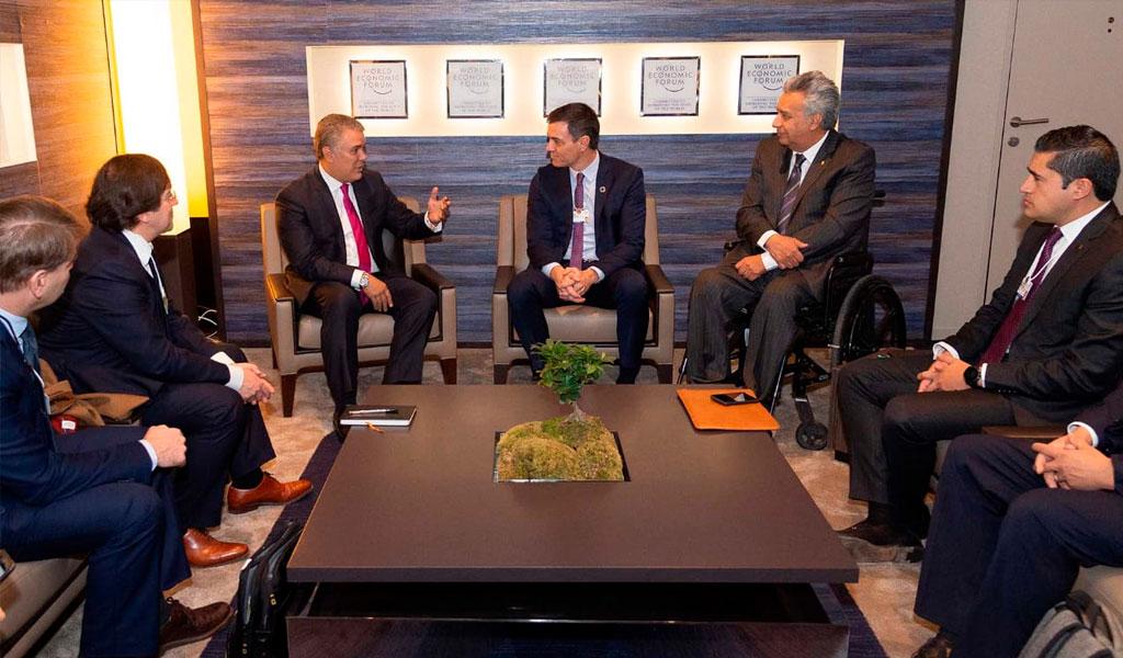 Migración, inversión y medio ambiente: Duque en Davos