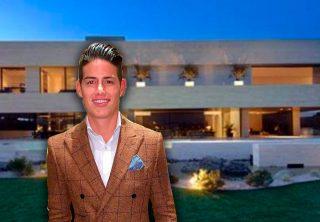 La lujosa mansión de James Rodríguez en Madrid
