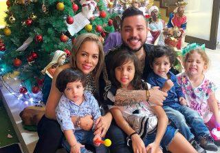 La fiesta de cumpleaños de los hijos de Jessi Uribe