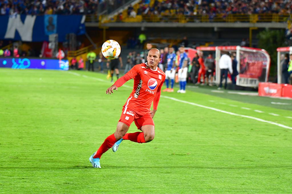 Juan David Pérez habló de cómo fue jugar contra Millonarios