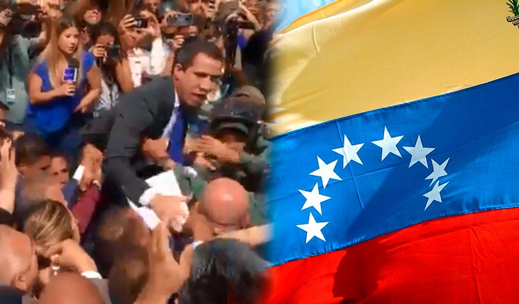 ¿Quién es el presidente de la Asamblea de Venezuela?