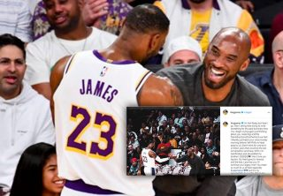 Desgarrador mensaje de Lebron James a Kobe Bryant