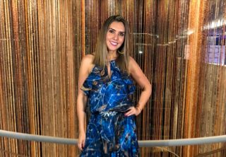 Mónica Rodríguez se golpeó al ver a un hombre que le gustó