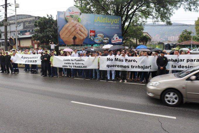 Ciudadanos en Medellín piden no hacer más paros