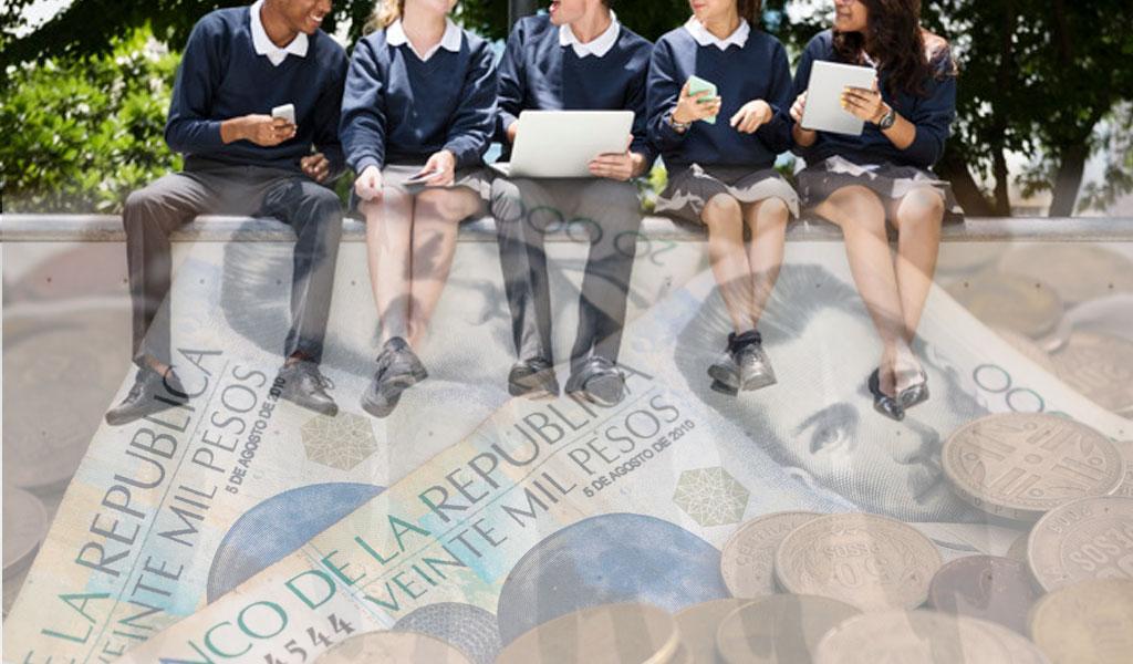 ¿De qué depende el aumento de las pensiones en el colegio?