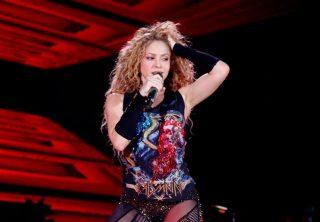 Así se prepara Shakira para su show en el Super Bowl
