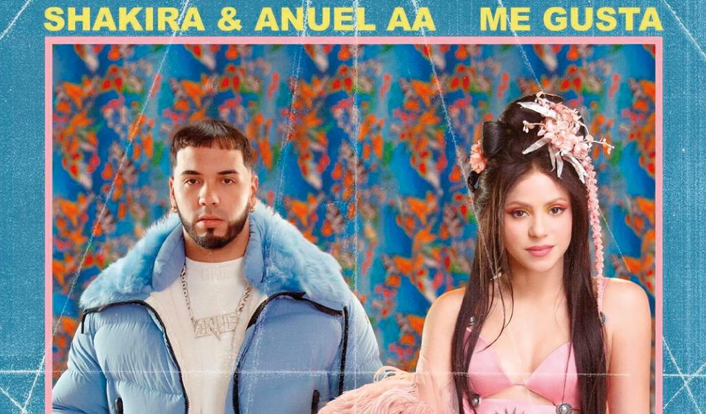 Así le fue a la nueva canción de Shakira con Anuel AA
