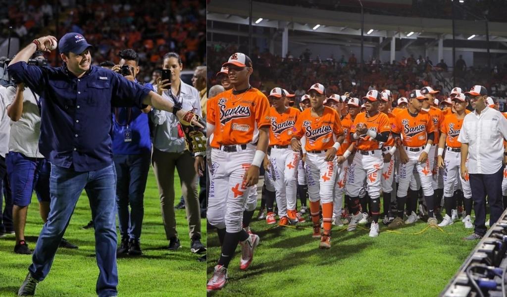 Inauguran el Campeonato Nacional Juvenil de Béisbol #51