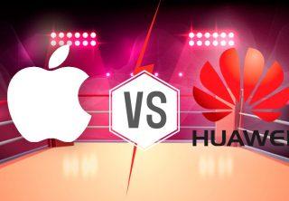 ¿Quién vende más celulares entre Apple y Huawei?