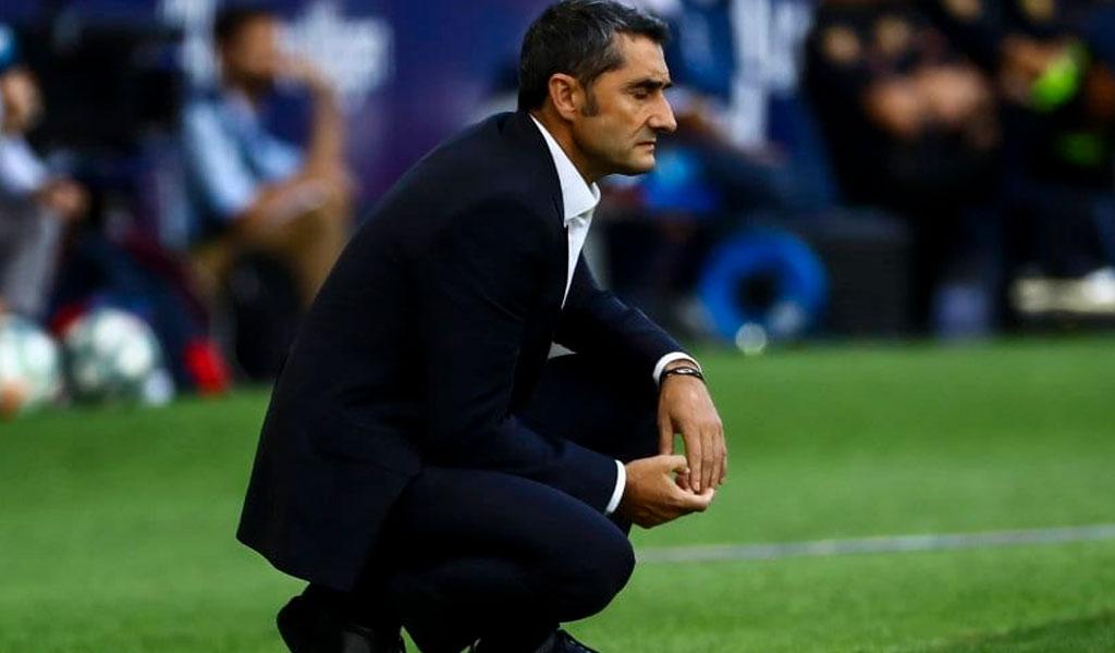 Despedido Valverde, Barcelona cambia de técnico