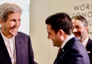 Vicepresidente Carrizo invitó a John Kerry a Panamá