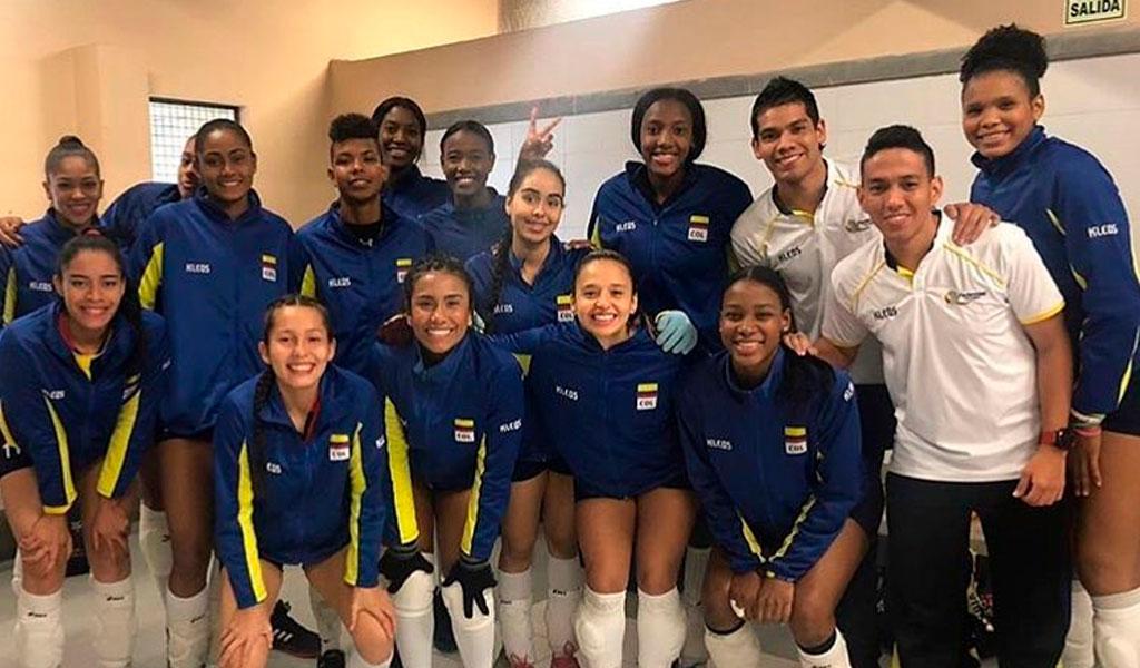 Triunfo del voleibol femenino colombiano en preolímpico