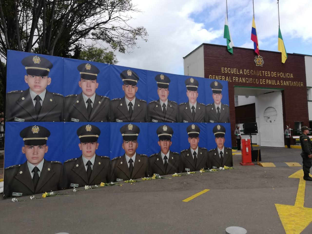 Homenaje a víctimas del ataque en la General Santander