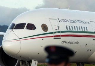 Presidente de México plantea rifar el avión presidencial
