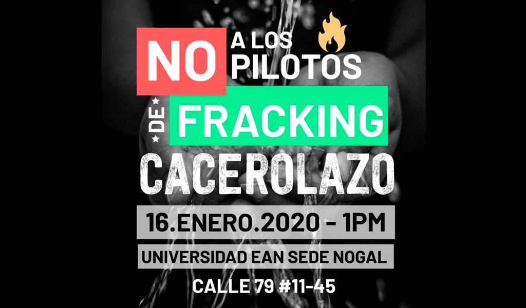 Convocan plantón ambiental en Bogotá