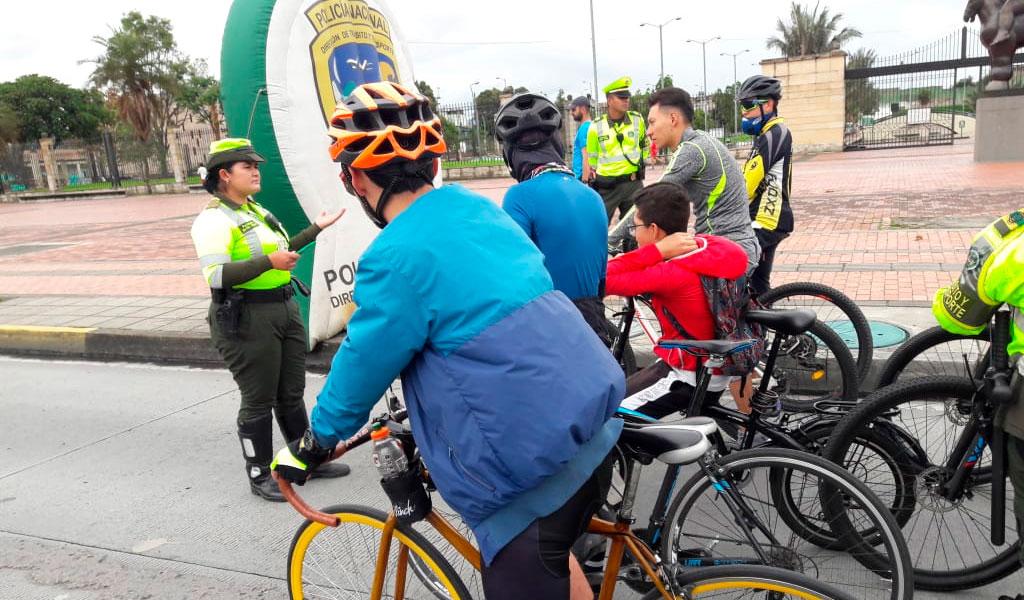 750 ciclistas sancionados en lo que va del 2020