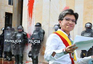 Así manejará Claudia López las protestas en su administración