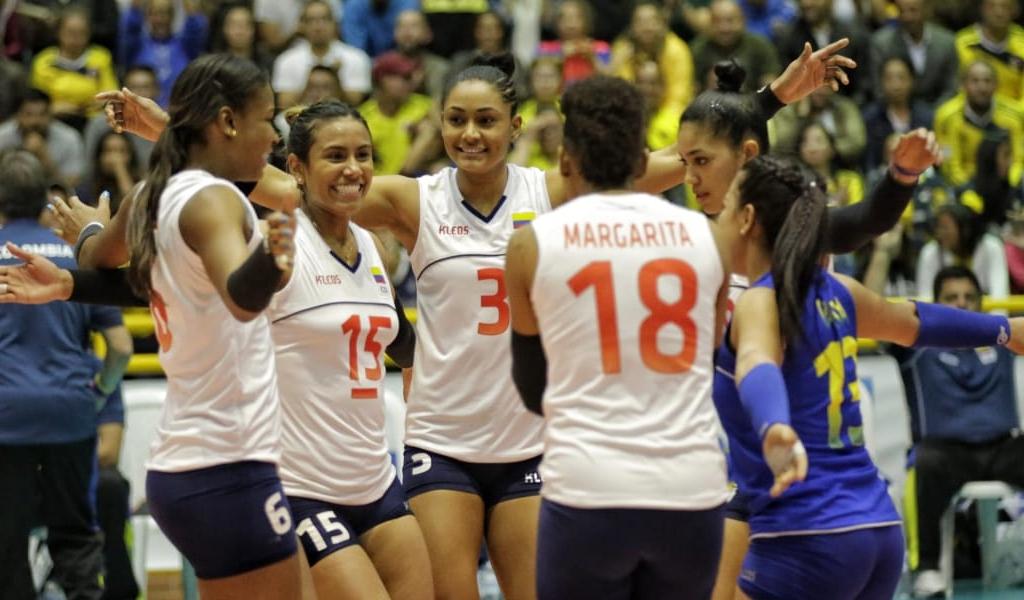 Colombia, entre los 20 mejores del voleibol femenino