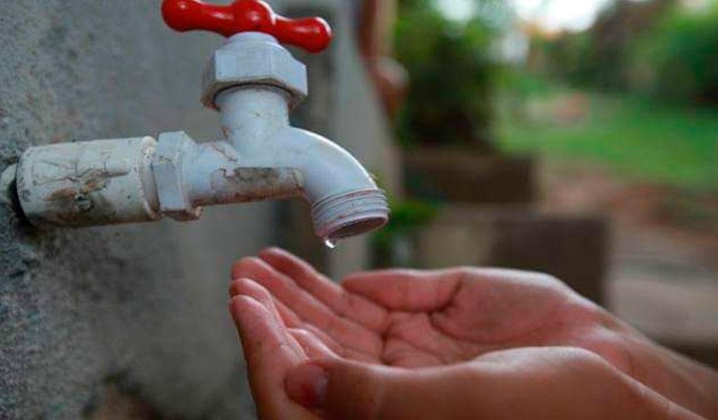 Desabastecimiento de agua en siete departamentos