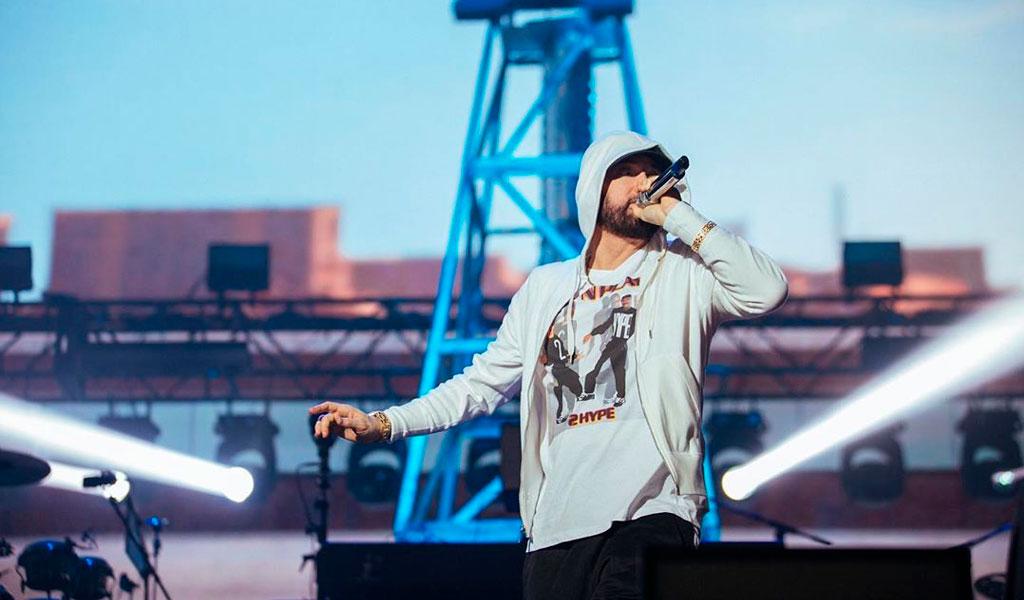 Eminem sorprende a sus fans con nuevo álbum