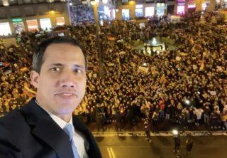 Guaidó logra multitudinaria concentración en Madrid