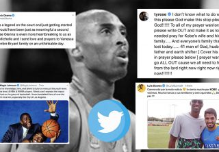 El mundo lamenta la partida inesperada de Kobe Bryant