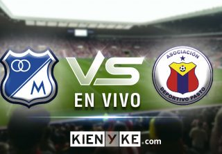 En vivo: Millonarios vs Deportivo Pasto