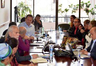 Partido Farc se reunió con representantes de la ONU