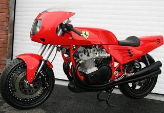 La peculiar historia de la única moto de Ferrari